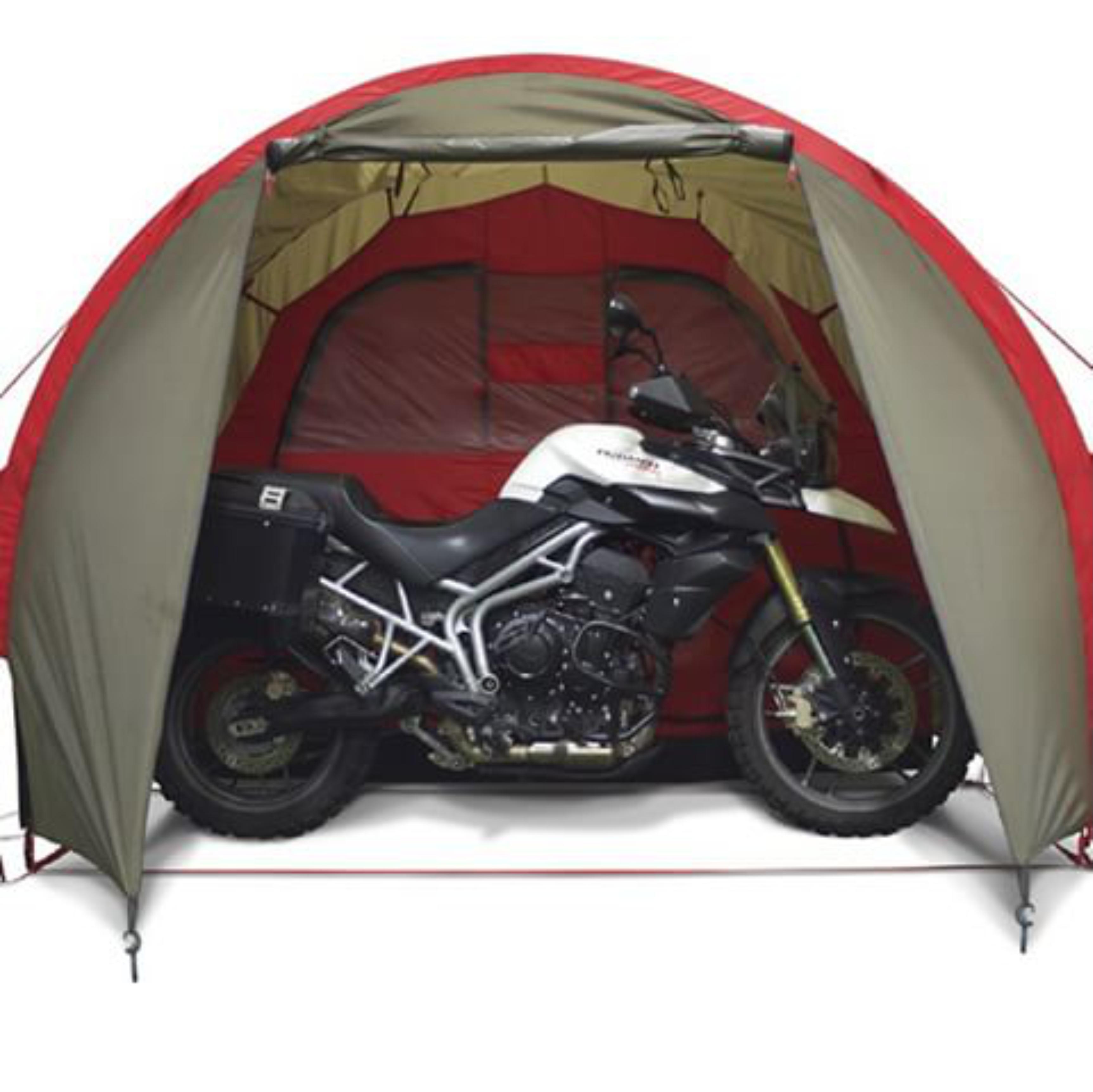 Campingiem w podróżach motocyklowych